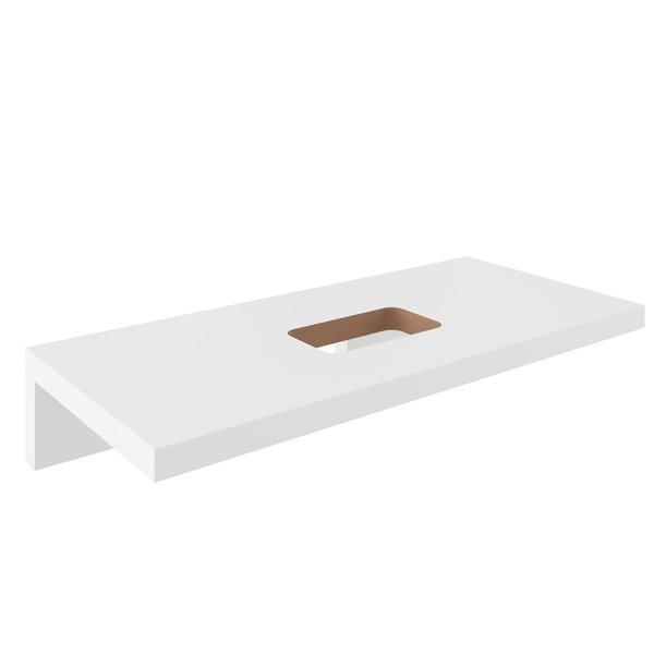 Столешница под раковину Ravak L 1200 белая, X000000832