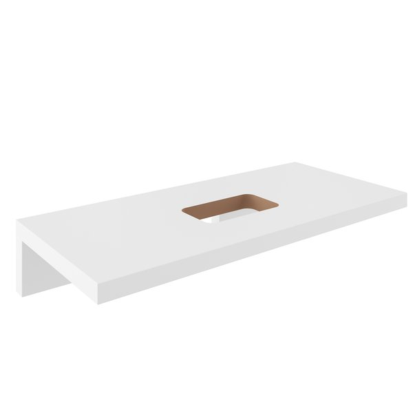 Столешница под раковину Ravak L 800 белая, X000000830