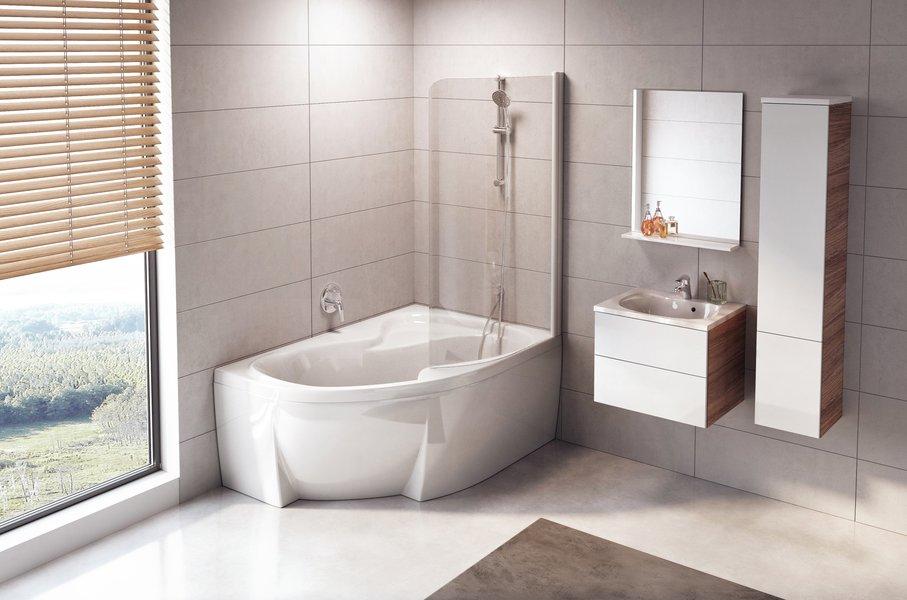 Зеркало Ravak ROSA II, 760х750 мм, цвет - белый, X000001296