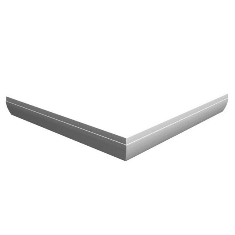 Панель GIGANT PRO 110x80 Пpавая с кpеплением белая, XA83DP01010