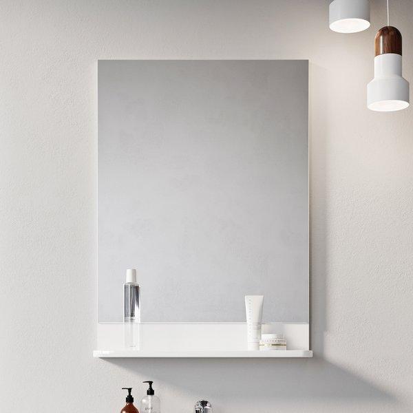 Зеркало Ravak BE HAPPY II, 530х655 мм, цвет - белый, X000001099