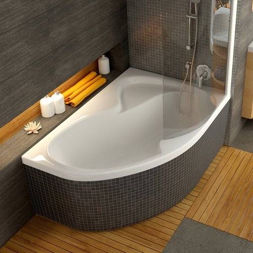 Ванна Ravak Rosa II 160х105 асимметричная левая, CM21000000