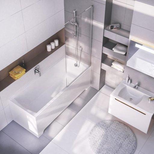 Ванна Ravak Classic 170х70 прямоугольная, C541000000