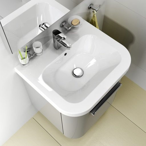 Умывальник Ravak CHROME 650 керамический белый, XJG01165000