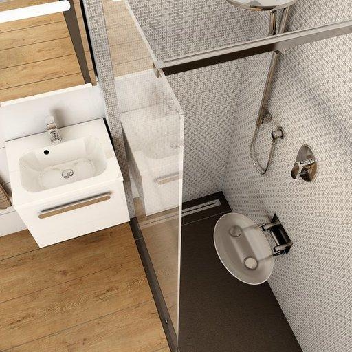 Унивеpсальное сиденье для душа Ravak OVO-P-CLEAR, прозрачный, B8F0000000