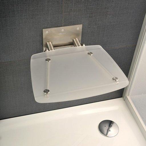 Унивеpсальное сиденье для душа Ravak OVO-B-CLEAR, цвет прозрачный, B8F0000015