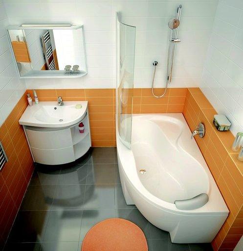 Зеркало Ravak Rosa, 780х680 мм, цвет - белый + берёза, правое, X000000161