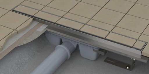 Душевой канал OZ RAVAK Floor 950 - stainless, X01431