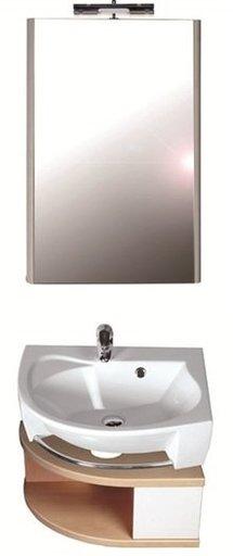 Зеркало Ravak Rosa, 560х800 мм, цвет - белый + берёза, X000000240