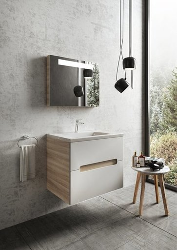 Зеркало Ravak Classic, 600х550 мм, цвет - эспрессо, X000000430