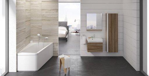 Зеркало Ravak 10°, 550, цвет - серый, X000000849