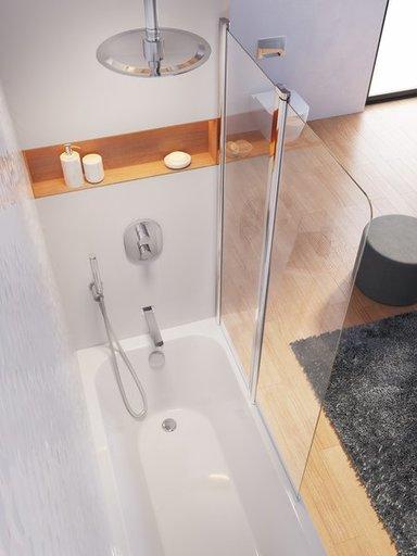 Ванна Ravak Chrome 160х70 прямоугольная, C731000000
