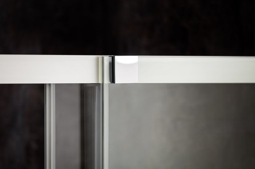 Душевой уголок Ravak MATRIX MSRV4-100/100, 1000х1000 мм, цвет профиля - блестящий, витраж - прозрачный, 1WVAAC00Z1