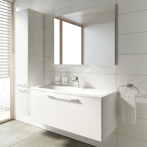 Зеркало Ravak RING, 800х700 мм, цвет - белый, X000000775