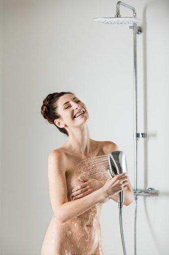 Душевая стойка с термостатическим смесителем для ванны и ручным душем Termo 300 TE 092.00/150, X070098