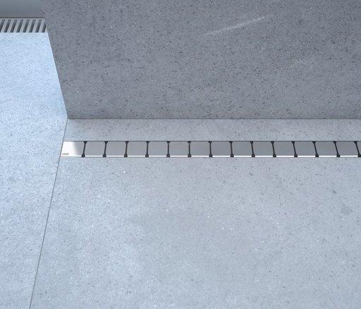 Душевой канал OZ RAVAK 10° 750 - stainless, X01623