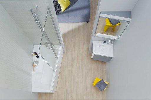 Зеркало Ravak 10°, 650х550 мм, цвет - серый, X000001080