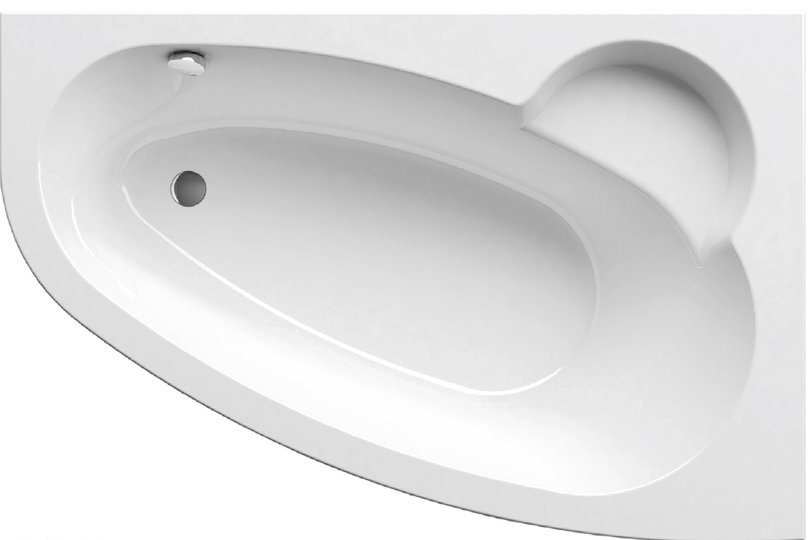 Ванна Ravak Asymmetric 150х100 асимметричная правая, C451000000