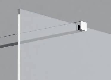 Душевая стенка отдельностоящая Ravak Walk-In Wall 1000х2000 мм, GW9WA0C00Z1