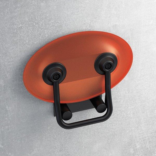 Универсальное сиденье для душа OVO-P-ORANGE/BLACK, цвет оранжевый, B8F0000044