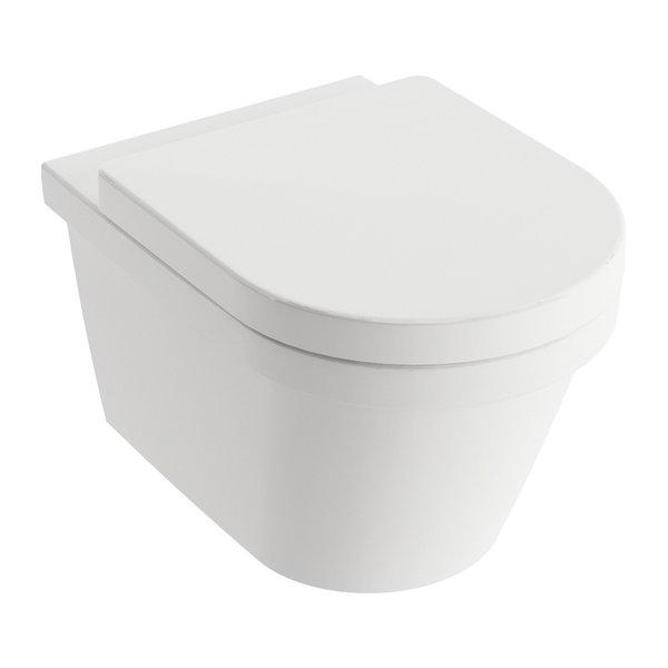 Унитаз подвесной CHROME RimOFF (безободковый) белый X01651, X01651