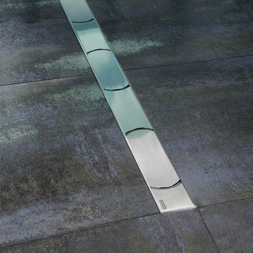 Душевой канал OZ RAVAK Chrome 750 - stainless, X01621