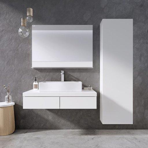 Зеркало Ravak FORMY, 800х710 мм, цвет - белый, X000001044