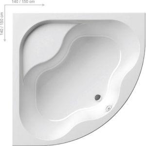 Ванна Ravak Gentiana 140х140 угловая, CF01000000