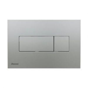 Кнопка инсталяционная Uni сатин, X01456