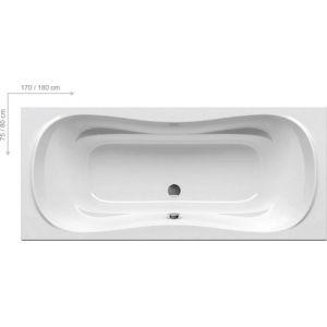 Ванна Ravak Campanula II 180х80 прямоугольная, CB21000000