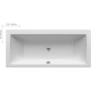 Ванна Ravak FORMY 180х80 прямоугольная, C881000000