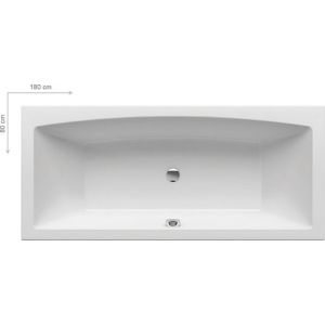 Ванна Ravak FORMY 180х80 прямоугольная, C891000000