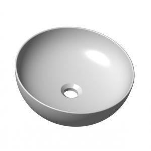 Умывальник UNI 400 B SLIM керамический белый, XJX01140003