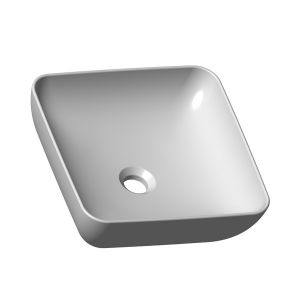 Умывальник UNI 380 S SLIM керамический белый, XJX01138001