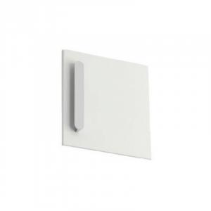 Дверь тумбы под умывальник SD 400 Chrome R белая, правая, X000000541