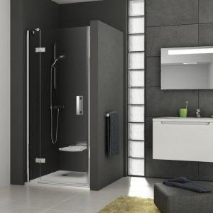Душевая дверь Ravak Smartline SMSD2-100, тип А, левая, 1000 мм, цвет профиля - хром, витраж - прозрачный, 0SLAAA00Z1