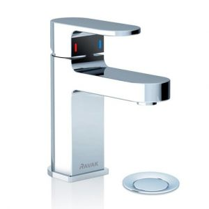 Смеситель для умывальника с донным клапаном Ravak Chrome CR 011.00, X070053