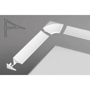 Универсальная декоративная планка 11/1100 белая 1100 мм, XB461100001