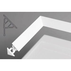 Универсальная декоративная планка 10/1100 белая 1100 мм, XB451100001