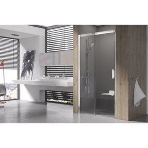 Душевая дверь Ravak MATRIX MSD2-120, левая, 1200 мм, цвет профиля - блестящий, витраж - прозрачный, 0WLG0C00Z1